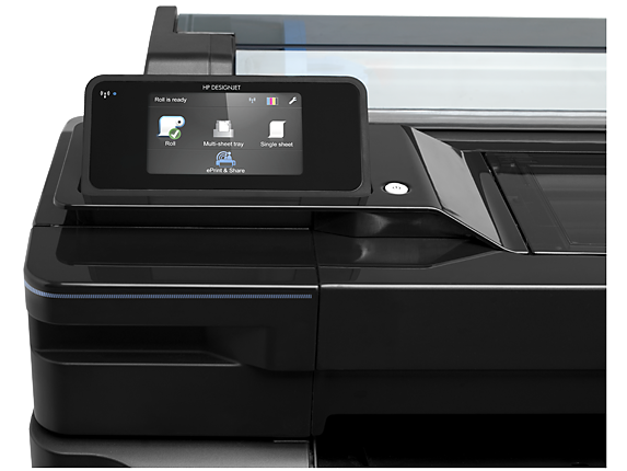 Plotter HP Designjet T520 Panel Táctil