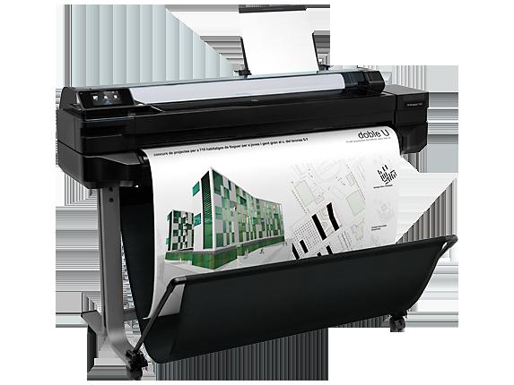 Tecnología Innovadora con el Plotter HP Designjet T520